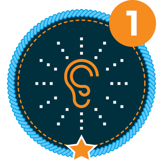 Communication Level 1 Icon