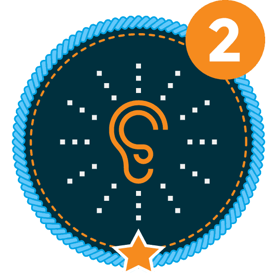 Communication Level 2-1 Icon