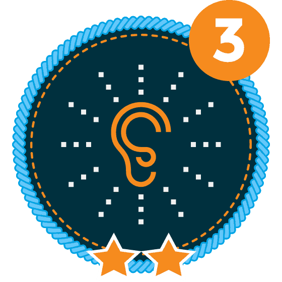 Communication Level 3-2 Icon