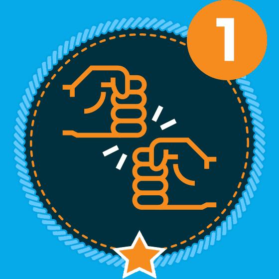 Respect Level 1 Icon
