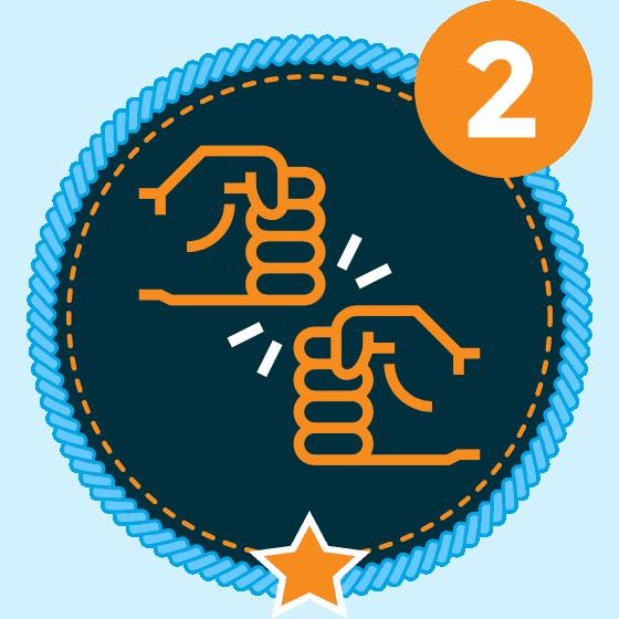 Respect Level 2 Icon