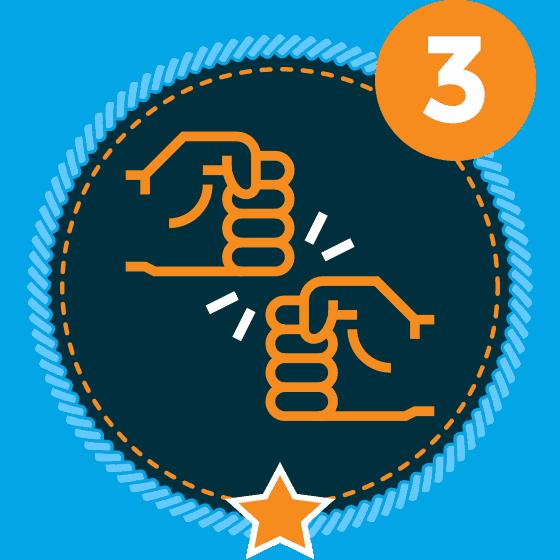 Respect Level 3 Icon