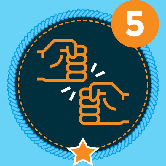 Respect Level 5 Icon